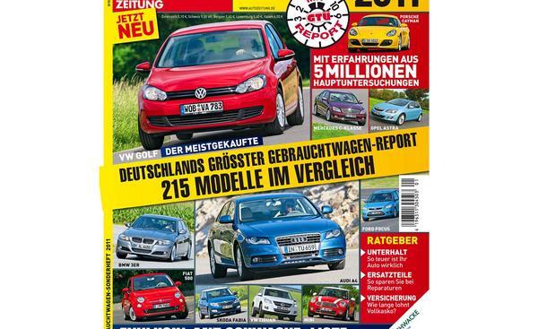 Gebrauchtwagen Sonderheft 2011 Titel