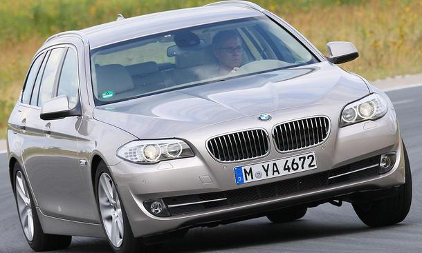 BMW 520d Touring Fahrdynamik