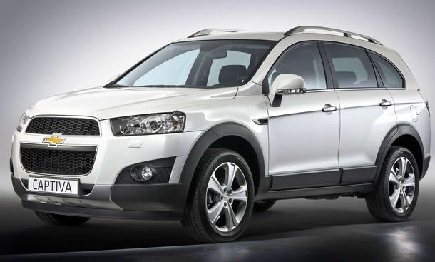 Chevrolet Captiva Facelift: Weltpremiere in Paris 2010 - Front