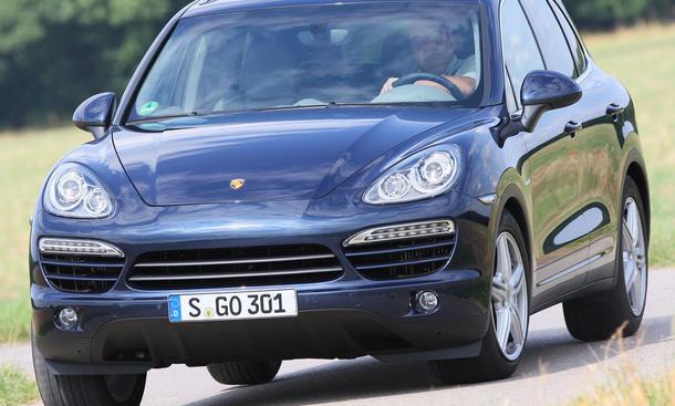 Porsche Cayenne Diesel im SUV-Vergleichstest