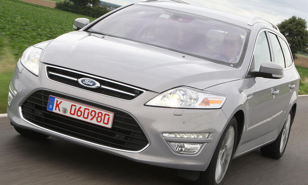 Ford Mondeo Turnier 2.2 TDCi als 200-PS-Turbodiesel