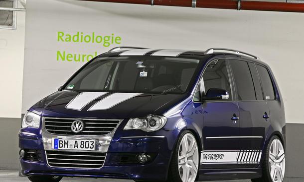 VW Racing Touran von MR Car Design Motorleistung