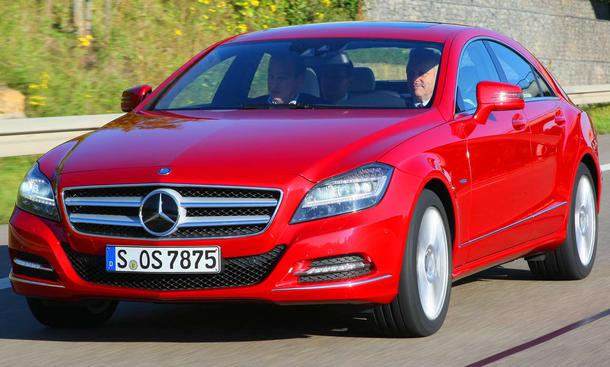 Mercedes CLS 350 CDI BlueEFFICIENCY Testfahrt