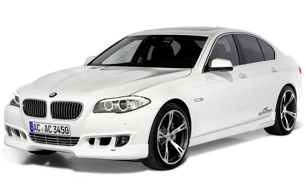 BMW 5er Tuning von AC Schnitzer - Front