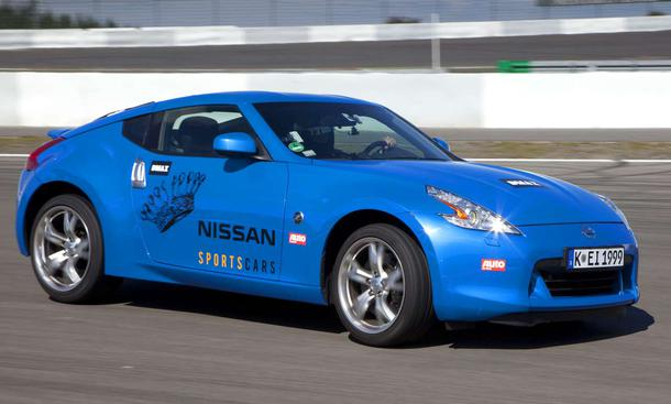 Nissan Sportscar Battle: Race Academy 2 am Nürbrurgring