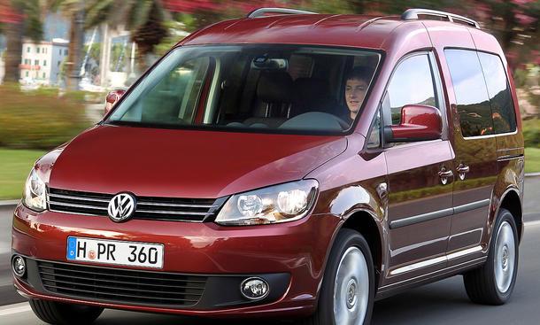 VW Caddy 1.2 TSI mit neuen Motoren
