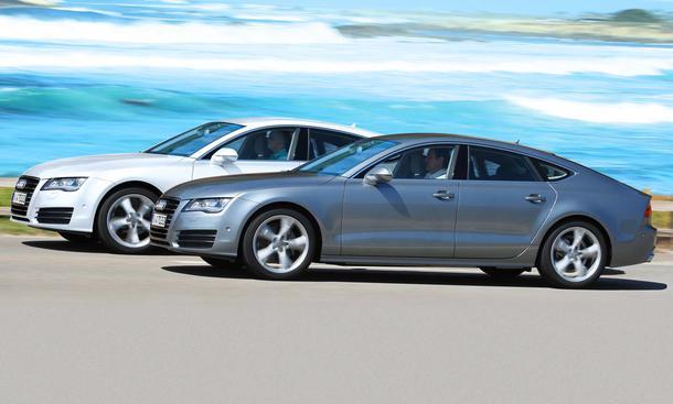 Audi A7 2.8 FSI und A7 3.0 TDI Sportback – was ist die bessere Einstiegsmotorisierung?