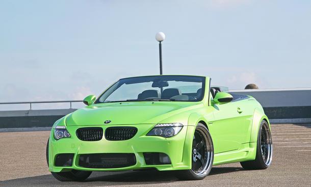 BMW 6er CLP MR 600 GT Breitbausatz für den 6er