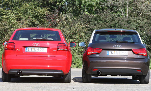 Audi A3 1.6 TDI Heckansicht