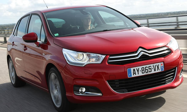Citroen C4 eHDi 110 112-PS-Diesel in der e-HDi airdream-Version