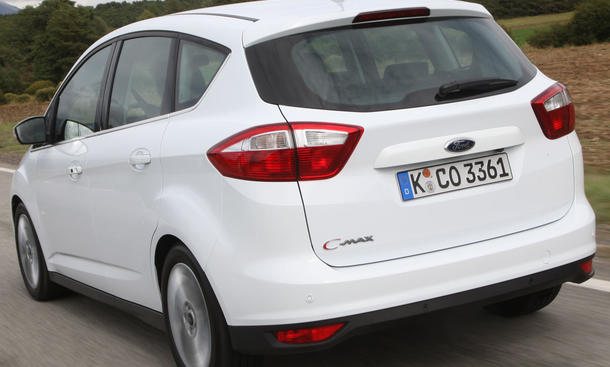 Ford C-Max 1.6 EcoBoost im Fahrbericht | Einleitung Karosserie ...