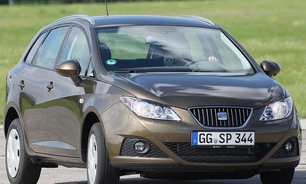 Seat Ibiza ST 1.6 TDI im Vergleichstest
