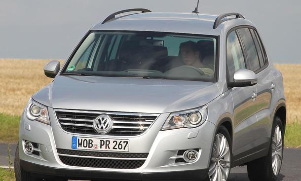 VW Tiguan 2.0 TDI 4Motion ab 29.600 Euro