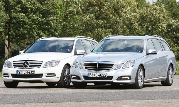 Mercedes C 250 CDI T MODELL BlueEFFICIENCY und E 250 CDI T MODELL BlueEFFICIENCY