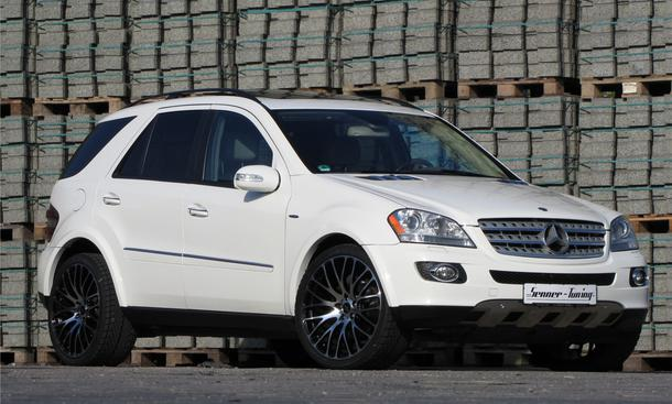 Mercedes ML 500 4Matic von Senner Tuning