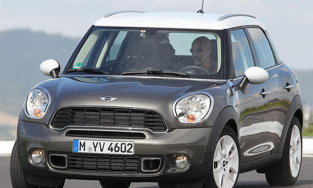 Mini Cooper S Countryman All4 Vorderansicht