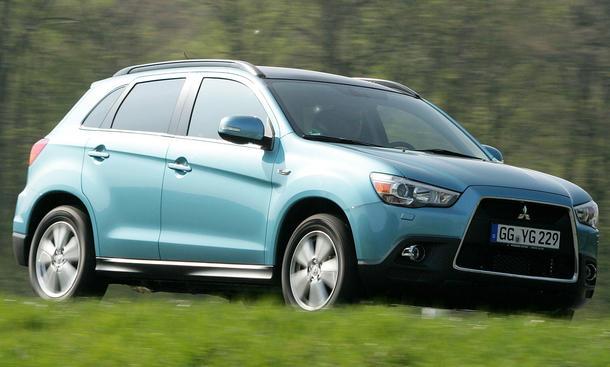 Mitsubishi ASX 1.6 2WD im Fahrbericht