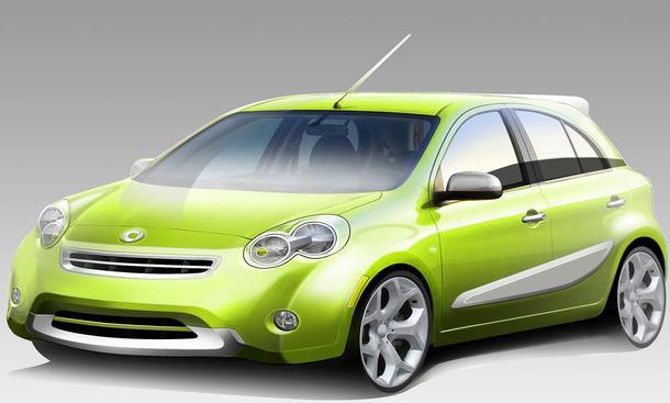 Smart entwickelt gemeinsam mit Nissan einen Fünftürer für die USA