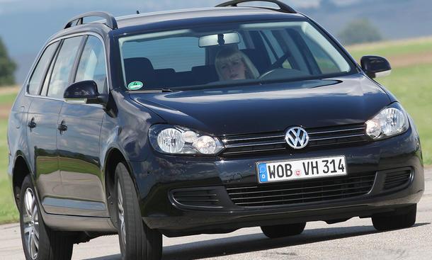 VW Golf TSI 021 im Vergeichstest