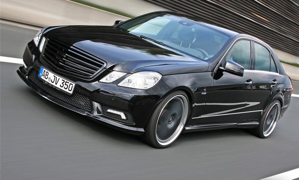 Vaeth Mercedes E-Klasse 350 CDI Front