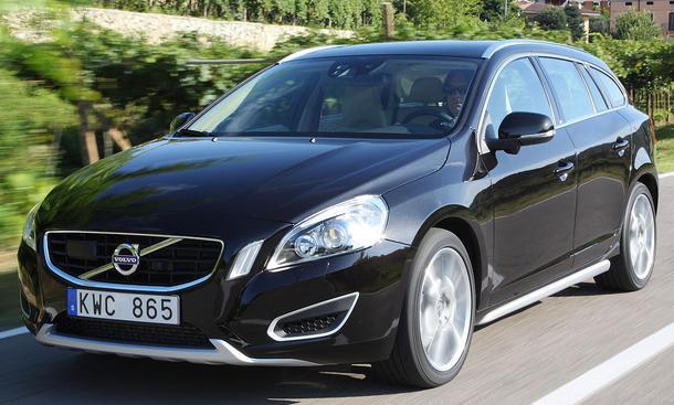 Volvo V60 T4 im Fahrbericht   Einleitung Karosserie - autozeitung.de