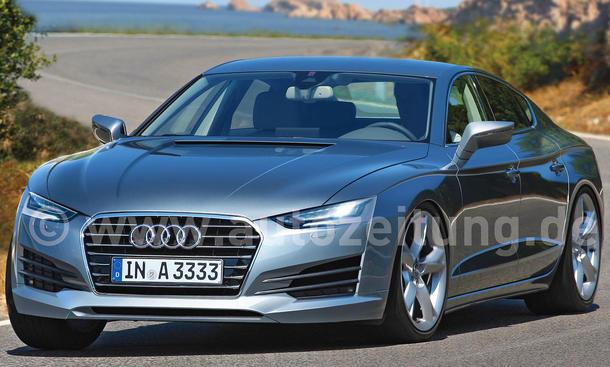 Geheimer Luxus-Sportler Audi A9