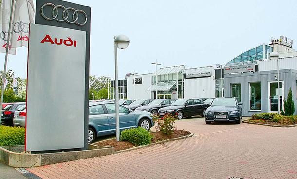 Audi im großen Werkstatt-Test 2010