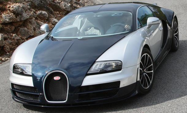 Bugatti Veyron 16.4 Super Sport Testfahrt