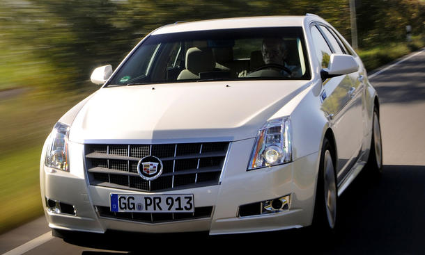 Cadillac CTS Sport Wagon 3.6 AWD Optik