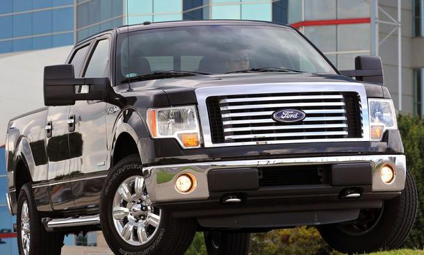Bestseller auf dem US-Automarkt ist seit 33 Jahren der Pickup Ford F 150