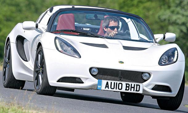 Lotus Elise Facelift mit 136 PS