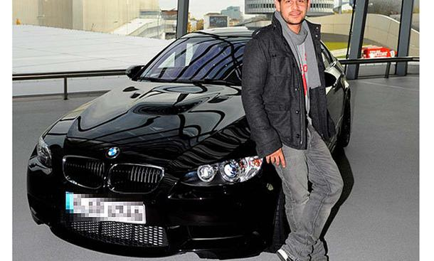 photo of Moritz Bleibtreu BMW M3 - car