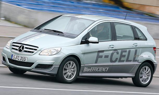 Mercedes B-Klasse F-Cell  Wasserstoff-Mercedes