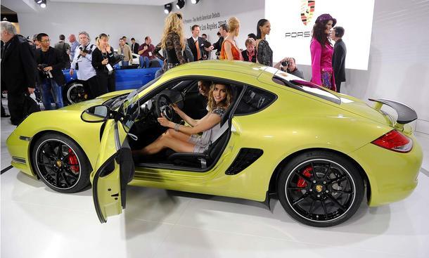 Porsche Cayman R LA Autoshow 2010