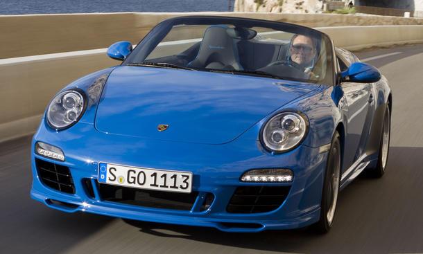 Porsche 911 Speedster Autosalon Paris Premiere