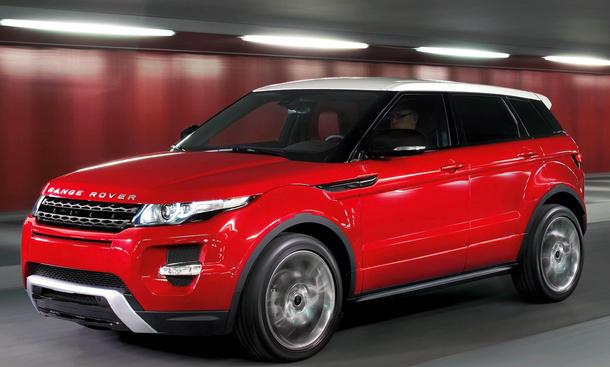 Range Rover Evoque Fünftürer - Front