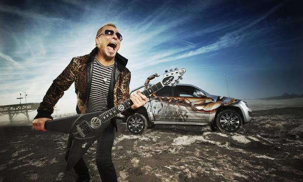 Scorpions VW Amarok Schenker Gitarre