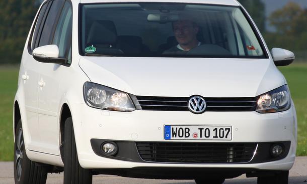 VW Touran 1.6 TDI BlueMotion Technology im VW Vergleich