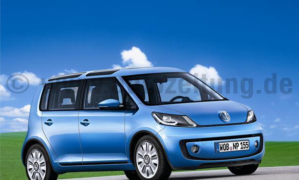 VW Up Space Van-Version