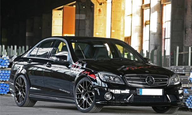 Wimmer Mercedes C63 AMG Performance Frontansicht