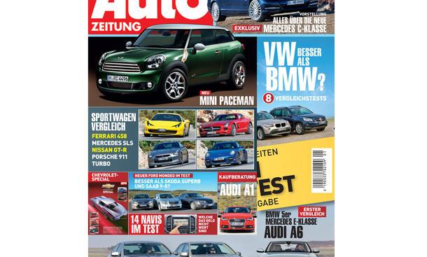 AUTO ZEITUNG Heft 01/2011