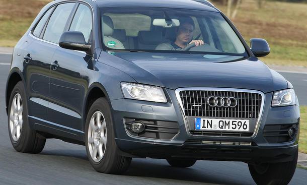 Audi Q5 2.0 TDI quattro ab 39.400 Euro