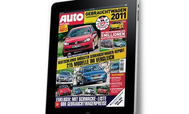 Gebrauchtwagen Sonderheft 2011 iPad Titel