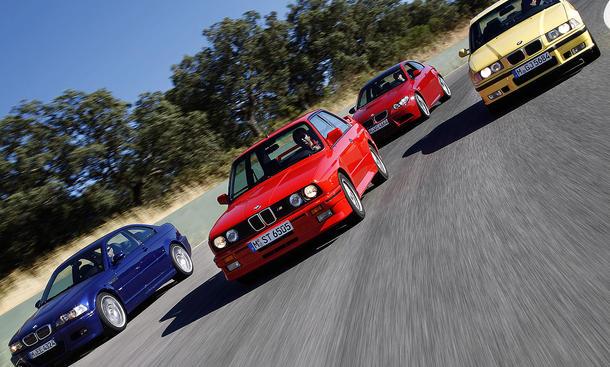 25 Jahre BMW M3 Gruppe Seite