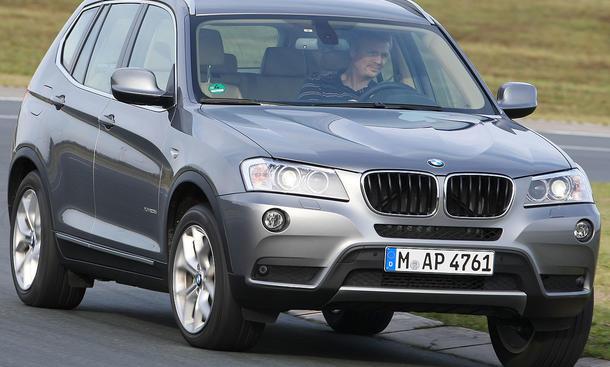BMW X3 xDrive20d ab 39.100 Euro