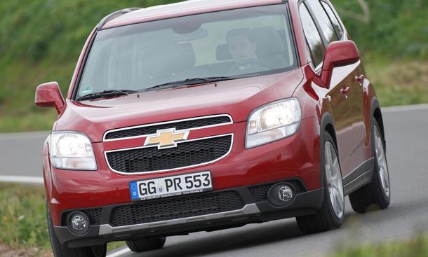 Chevrolet Orlando 20 Im Fahrbericht Autozeitung
