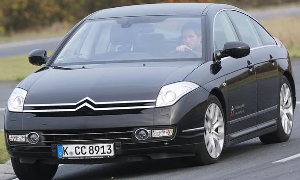 Citroën C6 V6 HDi 240 Biturbo-Triebwerk