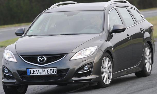 Mazda 6 2.2 CD Frontansicht