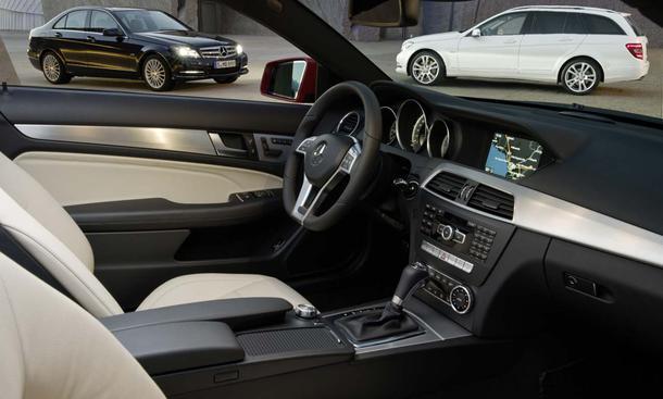 Armaturenbrett mercedes  Mercedes C-Klasse: Facelift im März 2011 | autozeitung.de