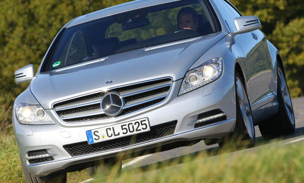 Mercedes CL 500 BlueEFFICIENCY Facelift Front